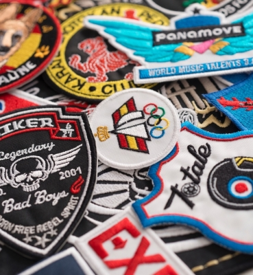 Patches brodés